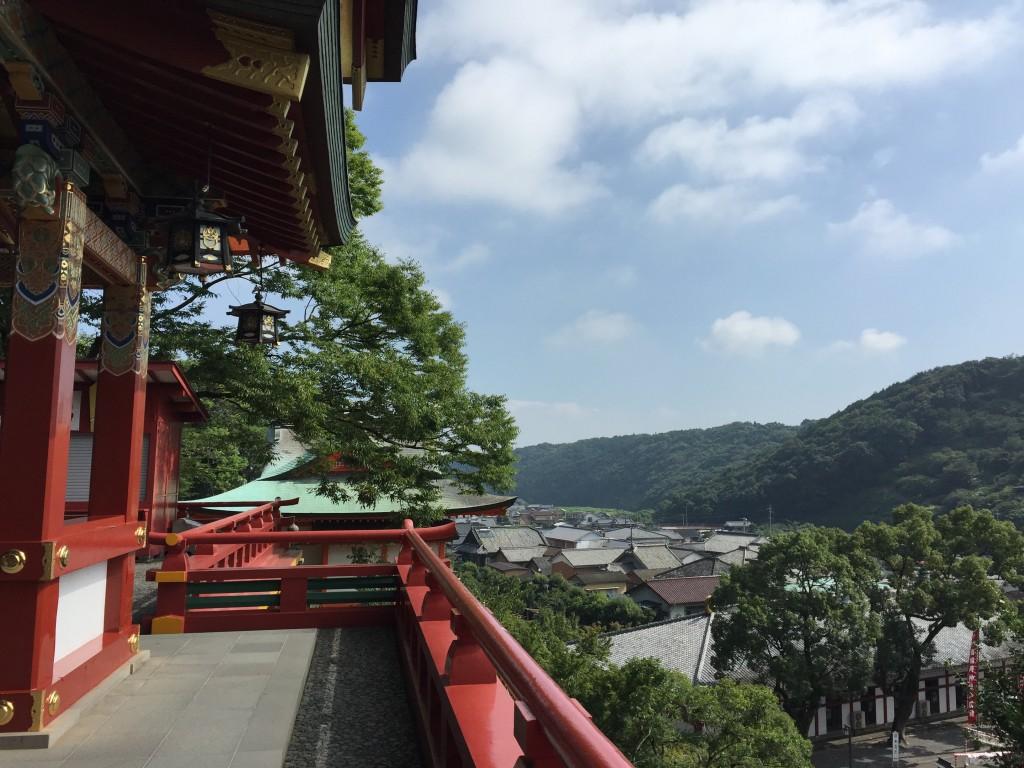 祐徳稲荷神社からみた景色